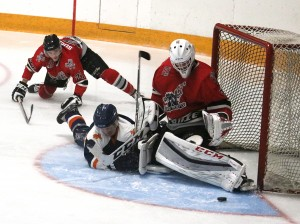 Gemmell, Heppler power Hawks offence to 6-0 win over Ghostriders