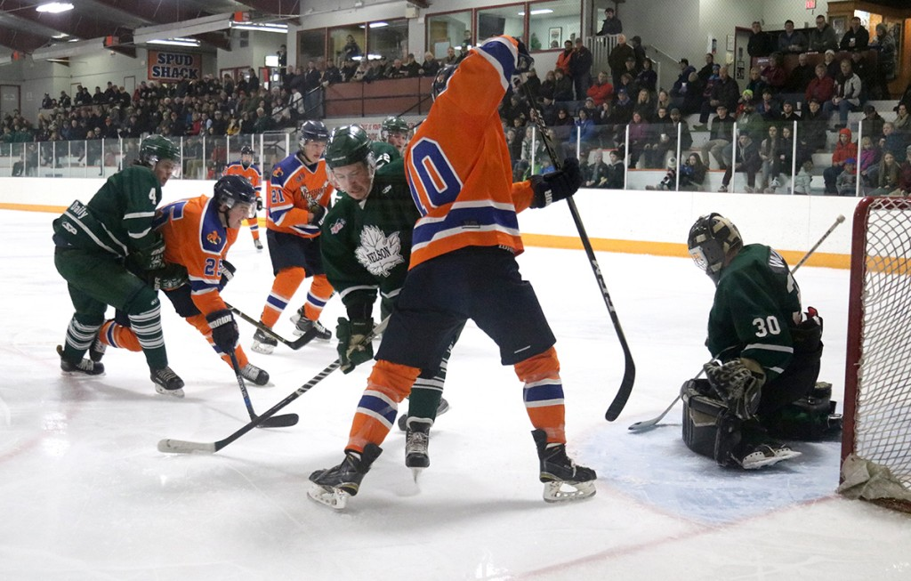 Nitehawks make most of make-up game against Nelson Leafs