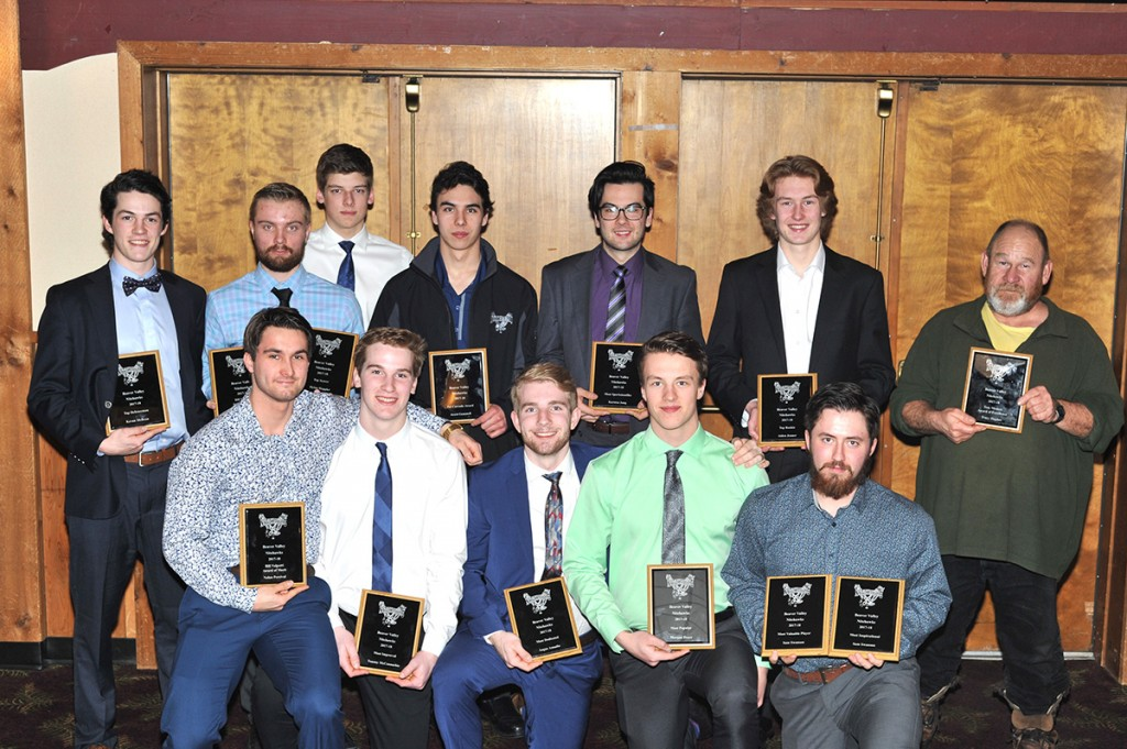 Beaver Valley Nitehawks hand out awards