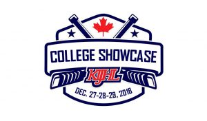 KIJHL College Showcase Logo - 2018