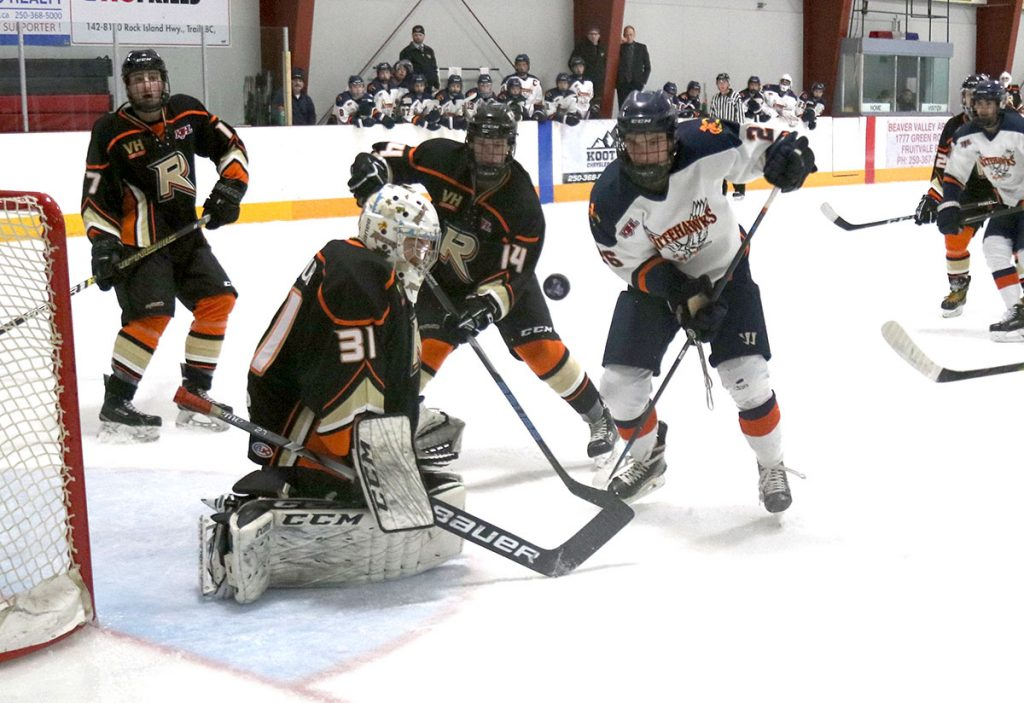 High-flying Nitehawks shut out Rebels