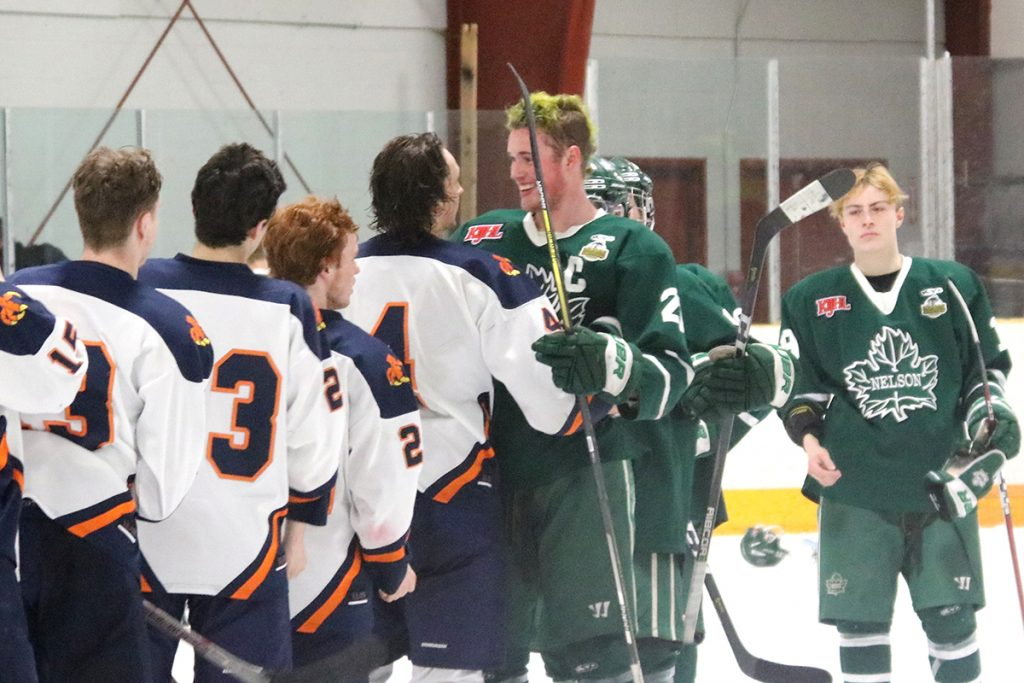 Beaver Valley Nitehawks oust Nelson Leafs from playoffs
