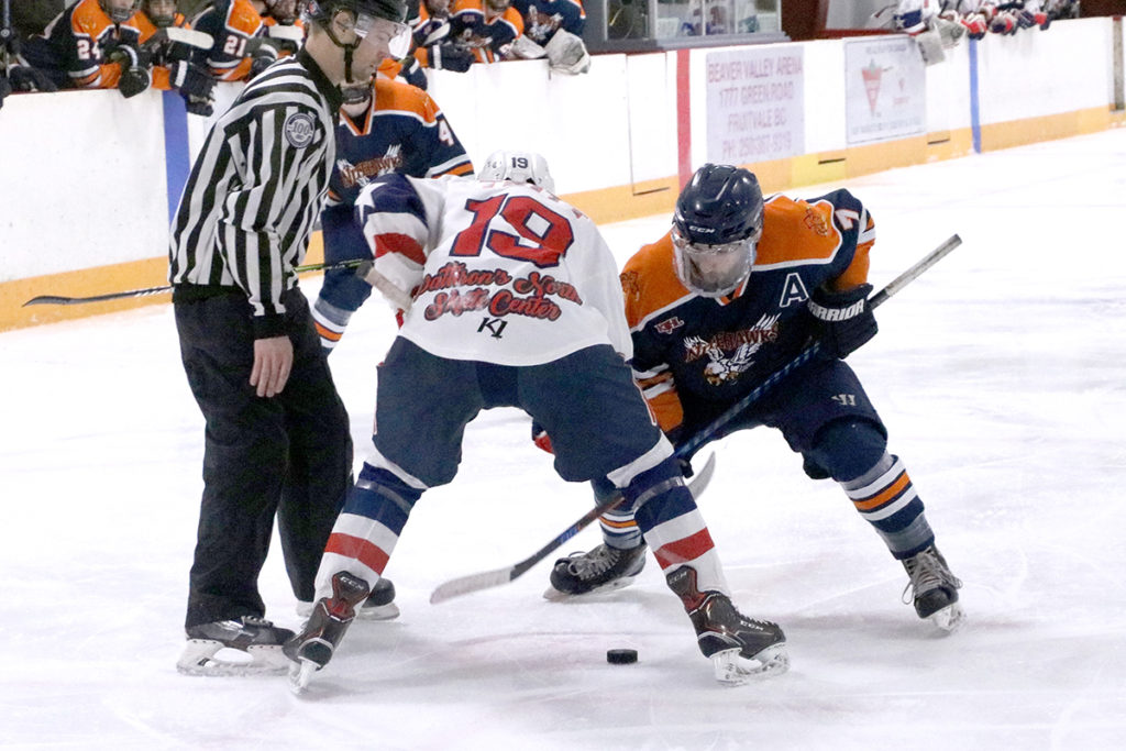 Nitehawks extend division lead over Nelson Leafs