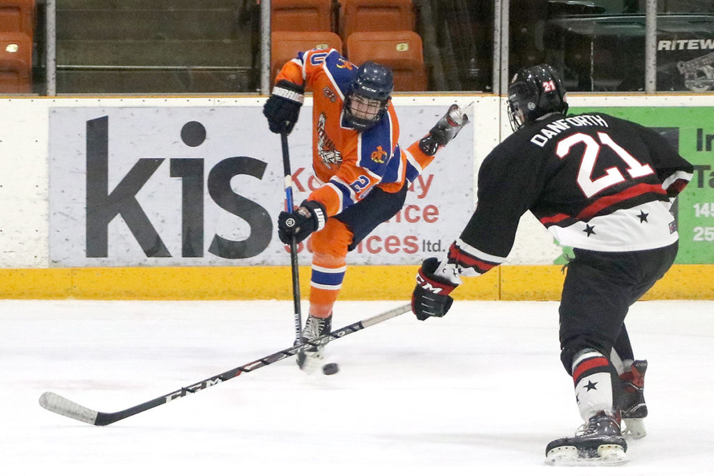B.V. Nitehawks travel to Trail, fall to Dynamiters in OT
